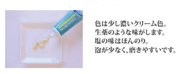 ぬちむ薬用デンタルペースト味