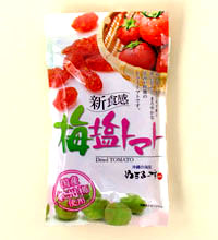 ドライ梅塩トマト【120g】